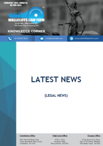 Knowledge Corner - February 2021 - Issue 01